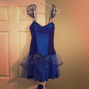 Blue butterfly Halloween costume